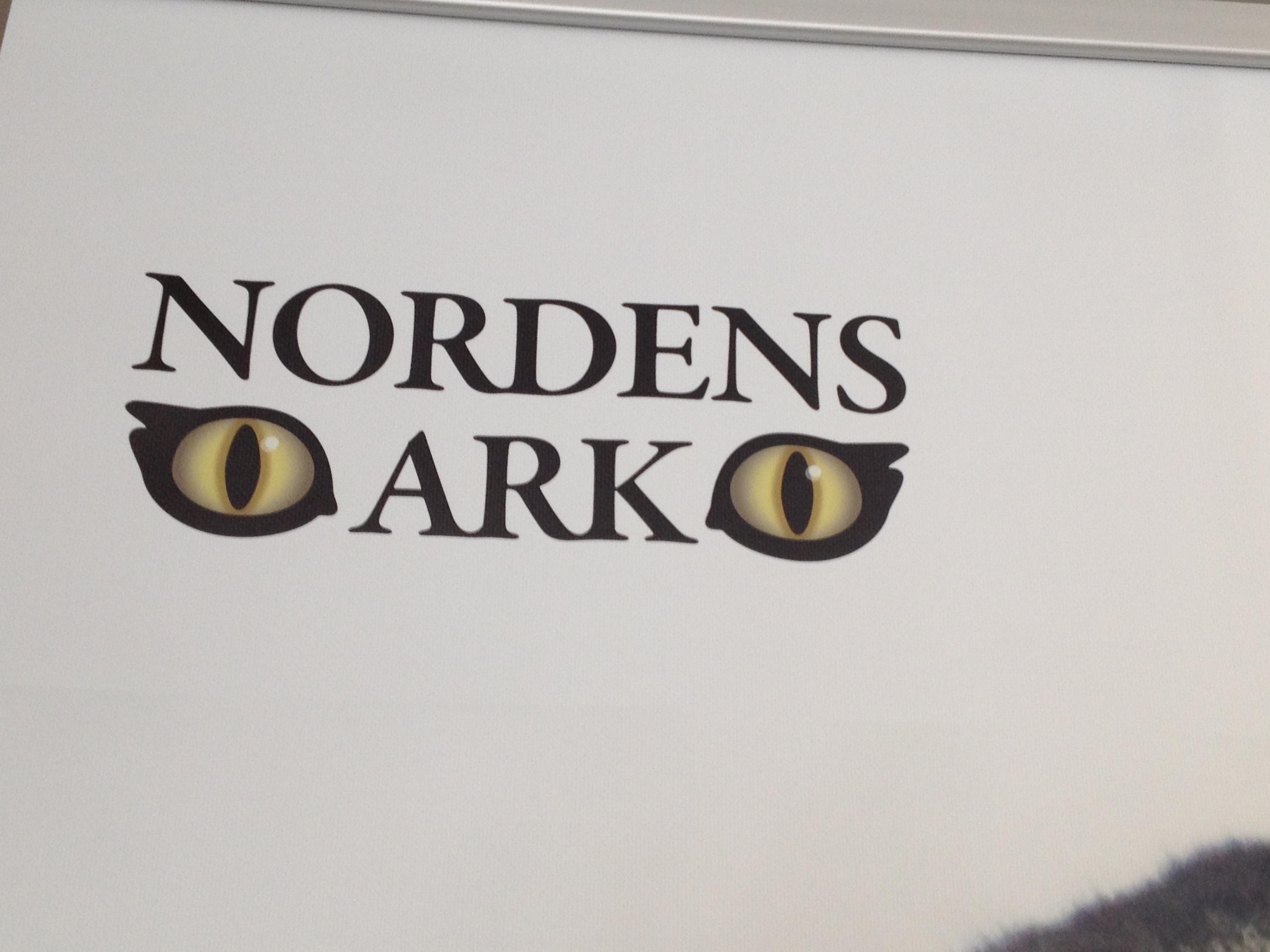Jag hoppas att fotot ska berätta allt - inom kort var vi framme på Nordens Ark!