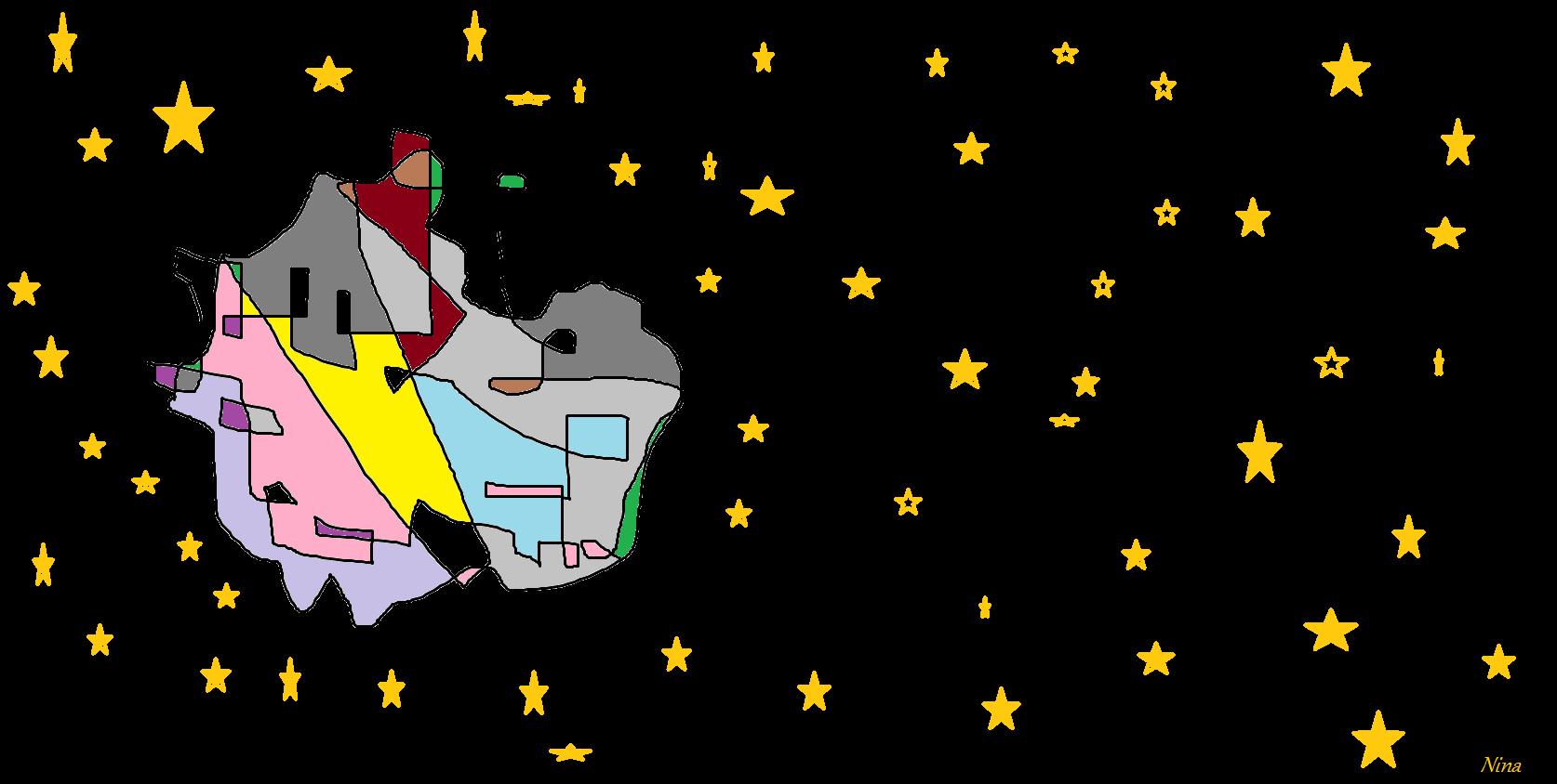 Landet i rymden